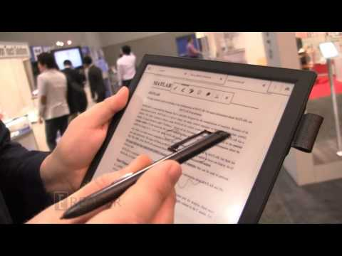 Sony 13.3 e-Reader Review - PDF Viewing