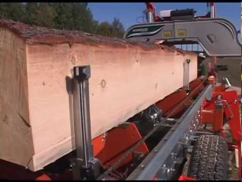 Attachments for the LumberMate Pro MX34 Series of Portable Sawmills by Norwood