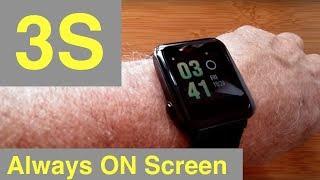 "WeLoop Hey 3S ""Pebble Like"" COLOR ""Always On"" screen Smartwatch: Unboxing & Review"