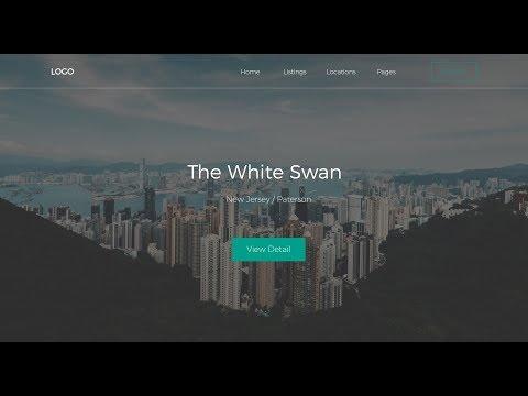 Business Website Landing Page Design   HTML & CSS