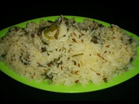 Jeera Rice Recipe in microwave by Savita Benur