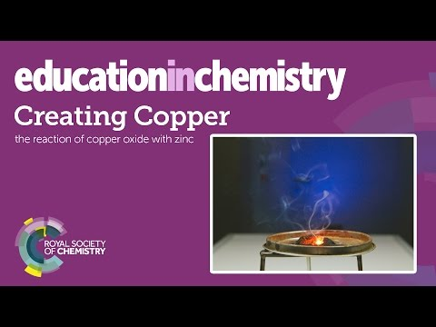 Creating copper – a displacement reaction demonstration