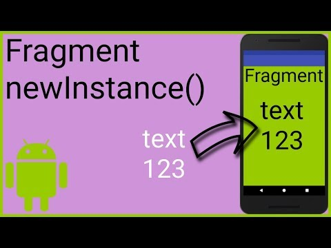 How to Send Data to a New Fragment with a Factory Method - Android Studio Tutorial