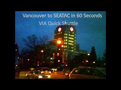 YVR to SEATAC In 60 Seconds