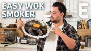 How to Turn Your Wok into an Indoor Smoker — You Can Do This!