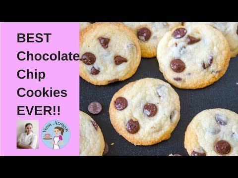 BEST Eggless Chocolate Chip Cookies EVER - Cookie Recipes