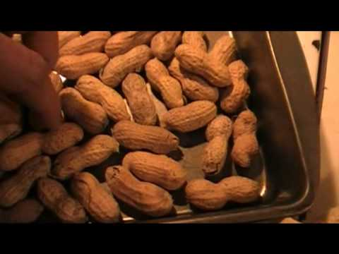 perfect home roasted peanuts