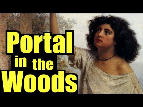 Portal in the Woods, the Hoia Baciu Forest Romania, the World's Most Haunted Forest Circle