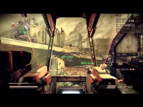 Killzone 3 Warzone Mech Gameplay - Cornith Highway 1/2