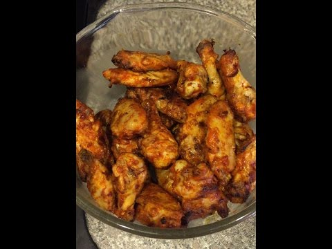 Grilled Hot Buffalo Wings (Franks Hot sauce)