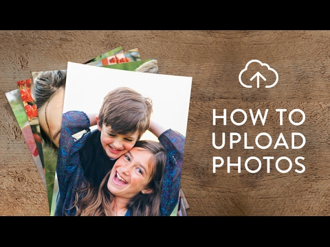 How to upload photos