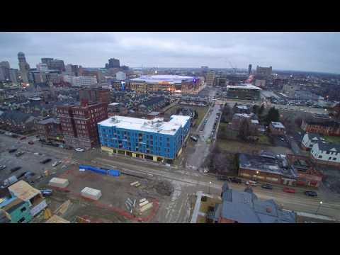 Brush Park / Modern City Midtown Detroit Michigan February Construction Update