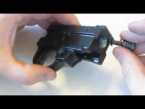 Ruger 10/22 Trigger Group Assembly Disassembly