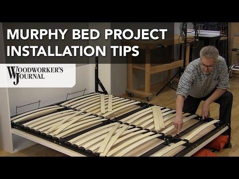 Murphy Bed Installation Tips