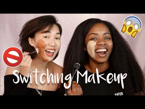Switching Makeup With My Best Friend!!!