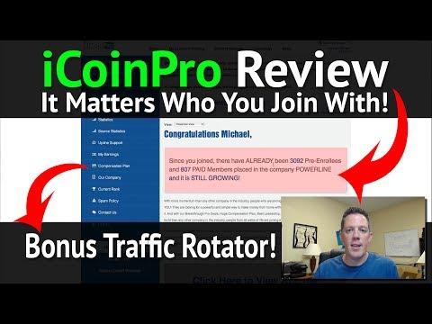 iCoinPro Review How to join iCoin Pro with Team Mansell