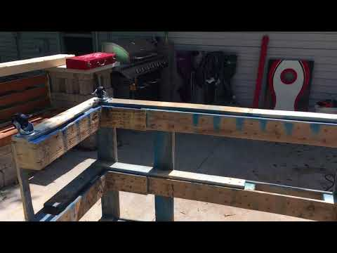 Pallet tiki bar build (part 1)