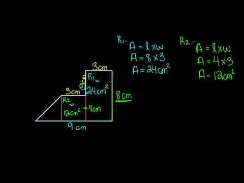 Area of Irregular Shapes -7th Grade Math