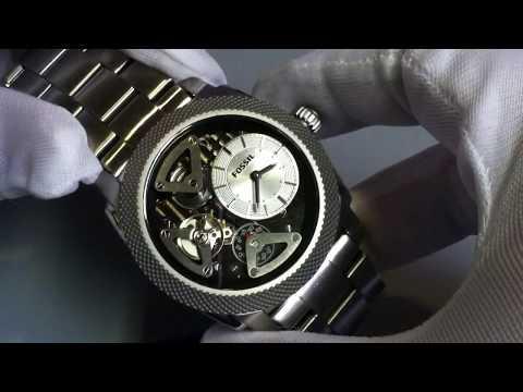 Men's Fossil Machine Twist Automatic Watch ME1120