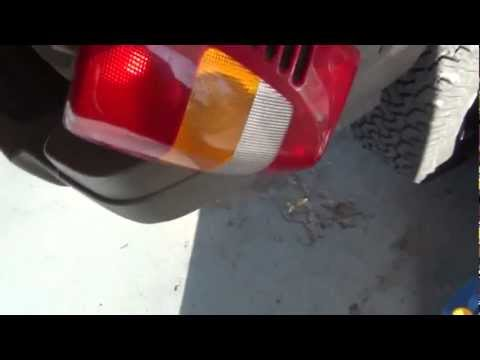Tail lights don't work   JEEP REPAIRS