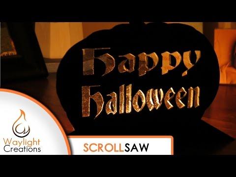Happy Halloween Tealight Silhouette