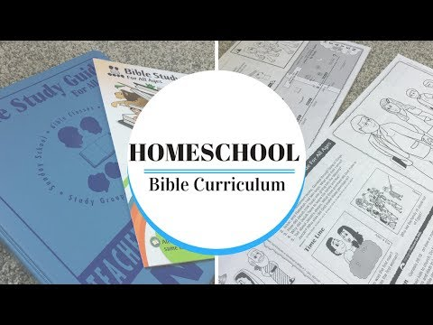 Homeschool Bible Curriculum | Bible Study Guide | March Mommy Madness | *STARSofJEWELS*