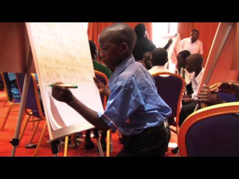Ugandan children work with community leaders to end violence in schools