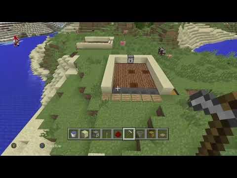 how to make a easy redstone garden