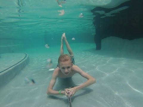 Hawaii GoPro Swimming