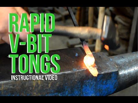 Rapid V-Bit Tongs Instructional Video