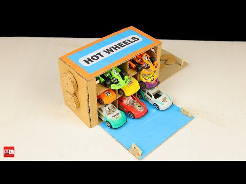 How to Make Amazing Hot Wheels Safe Lock DIY from Cardboard