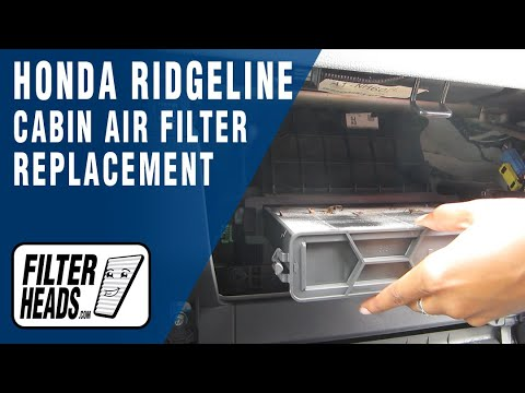 How to Replace Cabin Air Filter Honda Ridgeline