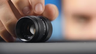 Get CINEMATIC with this Tiny f/1.4 Lens!
