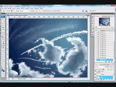 Creating a realistic clouds and sun with flare