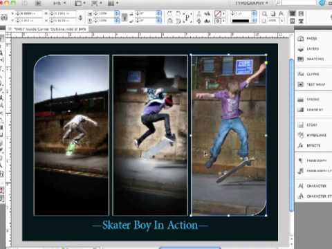 Adobe InDesign CS5.5 Corner Options