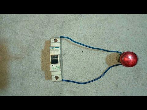 MCB Tripping Indicator wiring in Hindi | Electric Guru