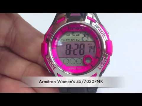 Armitron Women's 45/7030PNK - unboxing