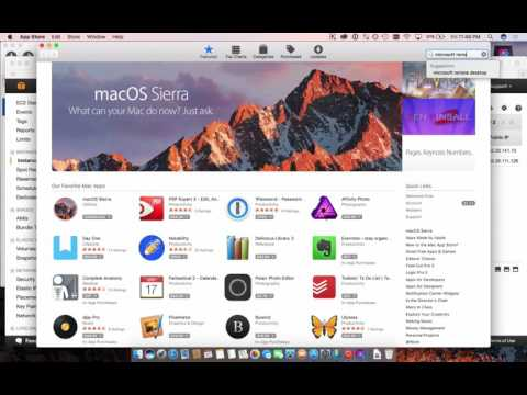 How to work on Access with a Mac