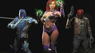 INJUSTICE 2 All Super Moves (UPDATED - INCLUDES STARFIRE) ALL CHARACTERS 1080p 60FPS