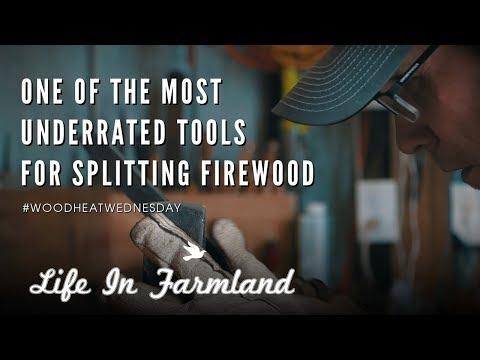 Splitting Wedge Maintenance Care - Wood Heat Wednesday - EP:21