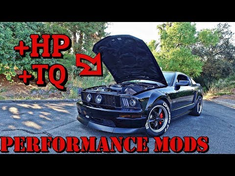 How To Make Your 05-09 Mustang Go FASTER! Best Performance Mods