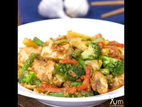Garlic Vegetable Stir Fry   Garlic Vegetable Stir Fry recipe   garlic vegetables recipe