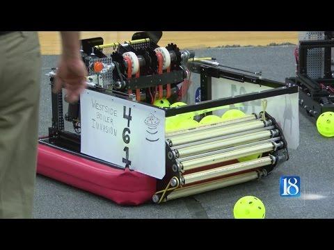 Area robotics teams show off their hard work