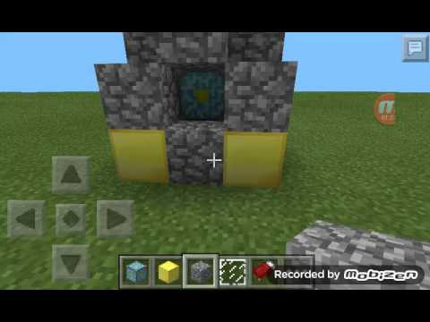 Como fazer um portal do nether no minecraft 0.9.1