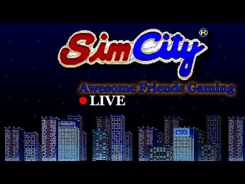 Let's Build a City - SimCity (SNES) LIVE