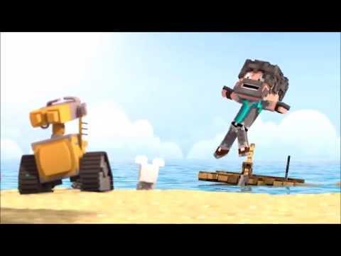 Wall E (Minecraft animation)
