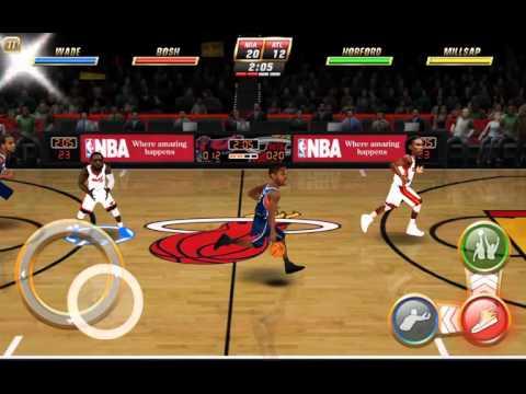 tablet. NBA Jam
