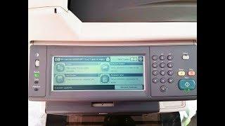 how to share Scanner on HP LaserJet M3035 by network folder