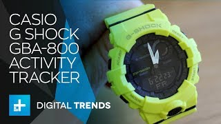 Casio G Shock GBA-800 - Hands On Review