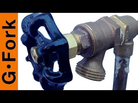 How to Repair a Dripping Outdoor Faucet - GardenFork